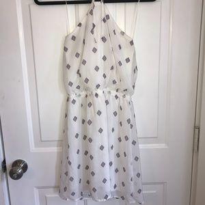 Express halter mini dress